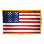 3' X 5' Nylon Fringed American Flag