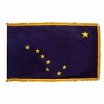 3' X 5' Nylon Indoor/Parade Alaska State Flag