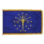 3' X 5' Nylon Indoor/Parade Indiana State Flag