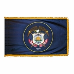 3' X 5' Nylon Indoor/Parade Utah State Flag
