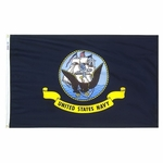 3' X 5' Nylon Navy Flag