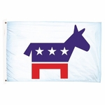 Premium Nylon Democratic Party Flag