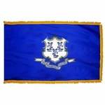 4' X 6' Nylon Indoor/Parade Connecticut State Flag