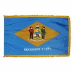 4' X 6' Nylon Indoor/Parade Delaware State Flag