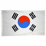 4' X 6' Nylon South Korea Flag