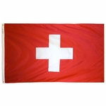 4' X 6' Nylon Switzerland Flag