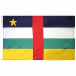 5' X 8' Nylon Central African Republic Flag