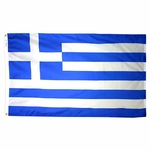 5' X 8' Nylon Greece Flag