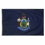 5' X 8' Nylon Maine State Flag