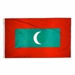 5' X 8' Nylon Maldives Flag