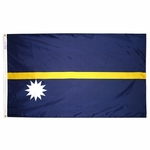 5' X 8' Nylon Nauru Flag