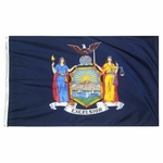 5' X 8' Nylon New York State Flag