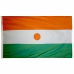 5' X 8' Nylon Niger Flag