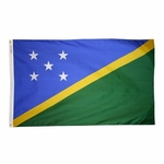 5' X 8' Nylon Solomon Islands Flag