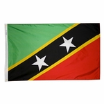 5' X 8' Nylon St. Kitts-Nevis Flag