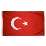 5' X 8' Nylon Turkey Flag