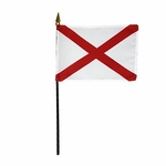 "8"" X 12"" Alabama Stick Flags"