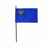 "8"" X 12"" Nevada Stick Flags"