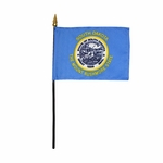 "8"" X 12"" South Dakota Stick Flags"