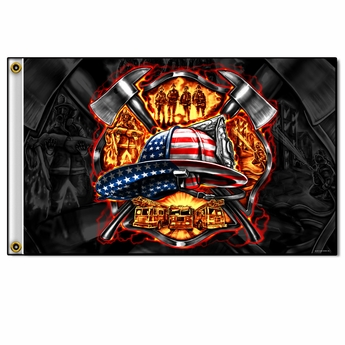 America's Firefighter Flag