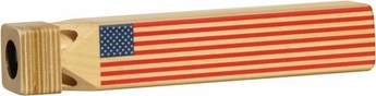 American Flag Train Whistle