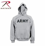 Army PT Pullover Hooded Sweatshirt - Grey