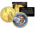 Barack Obama Presidential Dollar Coin