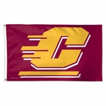 Central Michigan University Flag - 3' X 5'