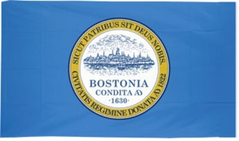 City of Boston Flags