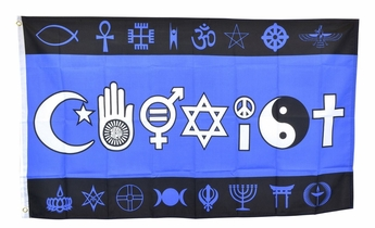 Co-Exist Diversity/Tolerance Flag