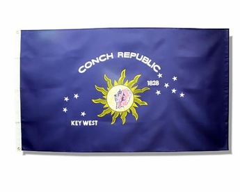 Conch Republic/Key West Flag