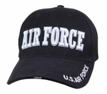 Deluxe Air Force Low Profile Insignia Cap