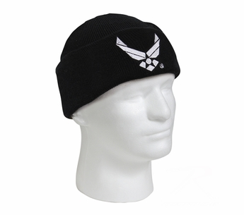 Deluxe Embroidered Air Force Watch Cap