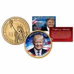 Donald Trump Commemorative Collectible Coin