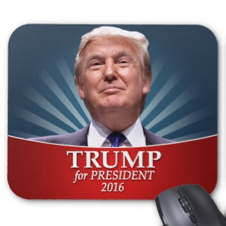 Donald Trump for President Photo Mousepad