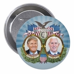 Donald Trump & Mike Pence Collectible Campaign Button