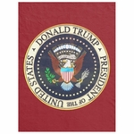 Donald Trump President Seal Fleece Blanket