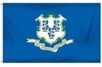Economy Printed Connecticut State Flags