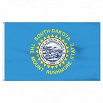 Economy Printed South Dakota State Flags