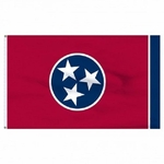 Economy Printed Tennessee State Flags