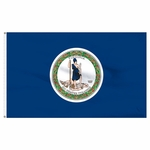 Economy Printed Virginia State Flags