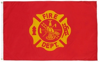 Fire Department Flag