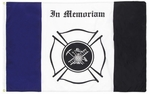 Firefighter Mourning Flag