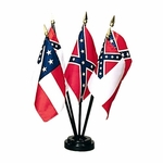 Flags of the Confederacy Miniature Set