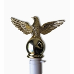Gold Eagle for Spinning Flagpoles