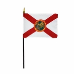 Handheld Florida State Flags