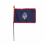 Handheld Guam Flags