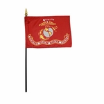 Handheld Marine Corps Flags