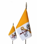 Handheld Papal Flags