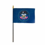 Handheld Utah State Flags